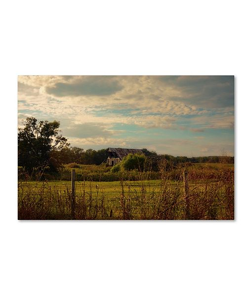 "Trademark Global Jai Johnson 'Rusty Barn At Sunset' Canvas Art - 24"" x 16"" x 2"""