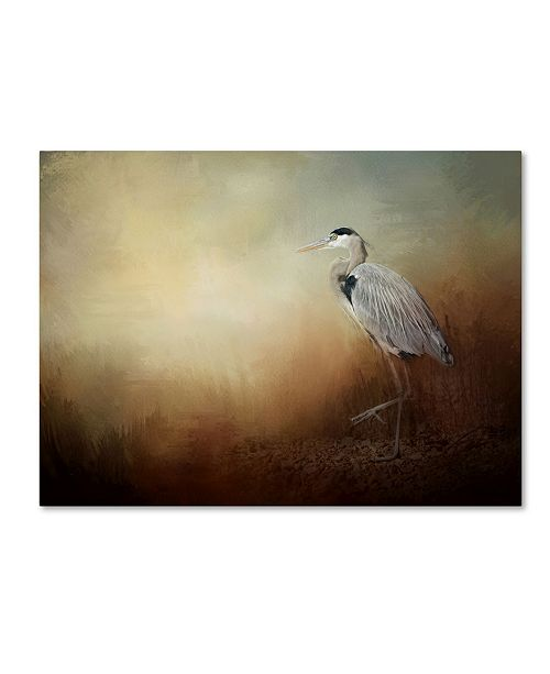 "Trademark Global Jai Johnson 'Heron At The Inlet' Canvas Art - 24"" x 18"" x 2"""
