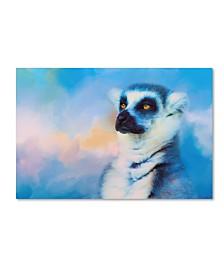 "Jai Johnson 'Colorful Expressions Lemur' Canvas Art - 47"" x 30"" x 2"""