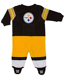 Gerber Childrenswear Baby Pittsburgh Steelers Footysuit