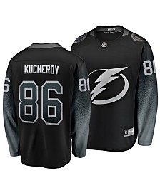 Authentic NHL Apparel Men's Nikita Kucherov Tampa Bay Lightning Breakaway Player Jersey