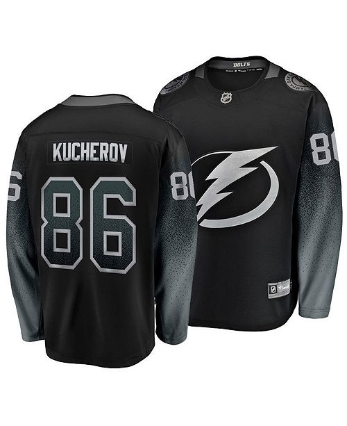 5b67f50a ... Authentic NHL Apparel Men's Nikita Kucherov Tampa Bay Lightning  Breakaway Player Jersey ...