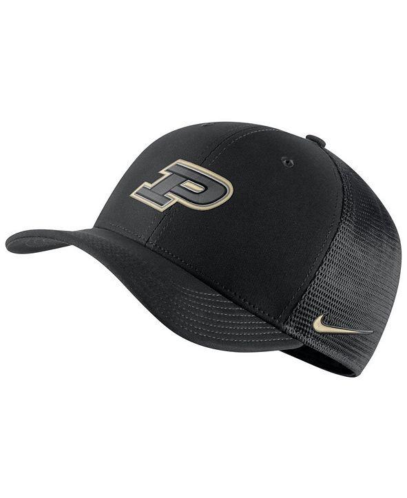 Nike Purdue Boilermakers Aerobill Mesh Cap
