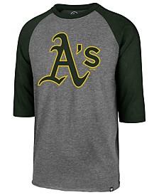 '47 Brand Men's Oakland Athletics Throwback Club Raglan T-Shirt