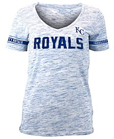 5th & Ocean Women's Kansas City Royals Space Dye T-Shirt
