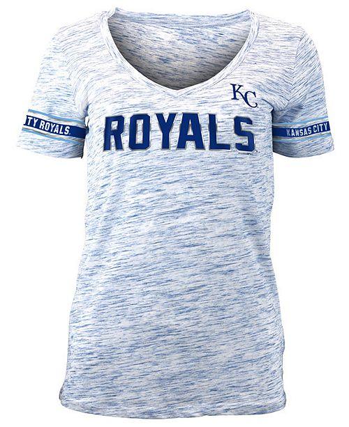 5th & Ocean Women's Kansas City Royals Space Dye T-Shirt