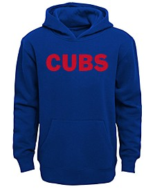 Little Boys Chicago Cubs Wordmark Pullover Fleece Hoodie