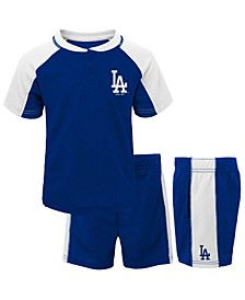 Toddlers Los Angeles Dodgers Play Strong Short Set