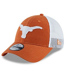 New Era Big Boys Texas Longhorns Team Truckered Snapback Cap
