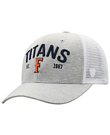 Top of the World Cal State Fullerton Titans Notch Heather Trucker Cap