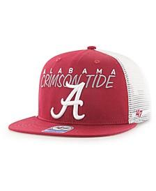Big Boys Alabama Crimson Tide Wordmark Captain Snapback Cap