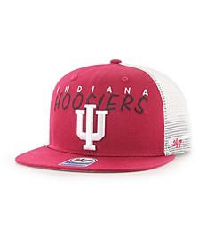 Big Boys Indiana Hoosiers Wordmark Captain Snapback Cap