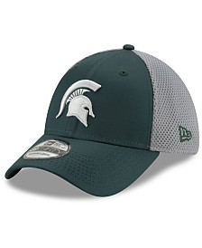 New Era Michigan State Spartans TC Gray Neo 39THIRTY Cap