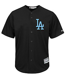 Majestic Men's Los Angeles Dodgers Black Tux Replica Cool Base Jersey