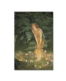 """Edward Robert Hughes 'Midsummer Eve' Canvas Art - 24"""" x 16"""" x 2"""""""
