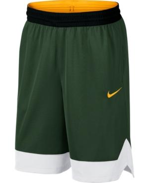 Nike Men's Dri-Fit Colorblocked Basketball Shorts In Cosmic Bonsal