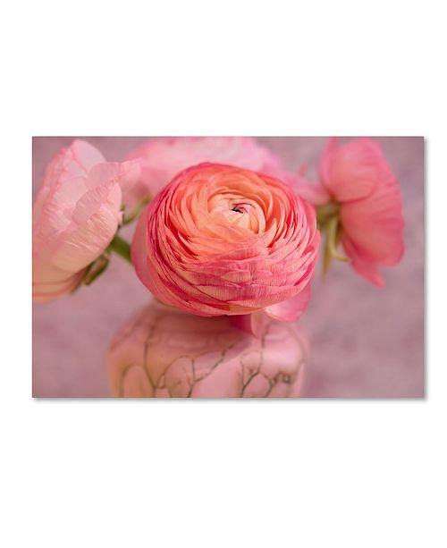 "Trademark Global Cora Niele 'Small Flower' Canvas Art - 24"" x 16"" x 2"""