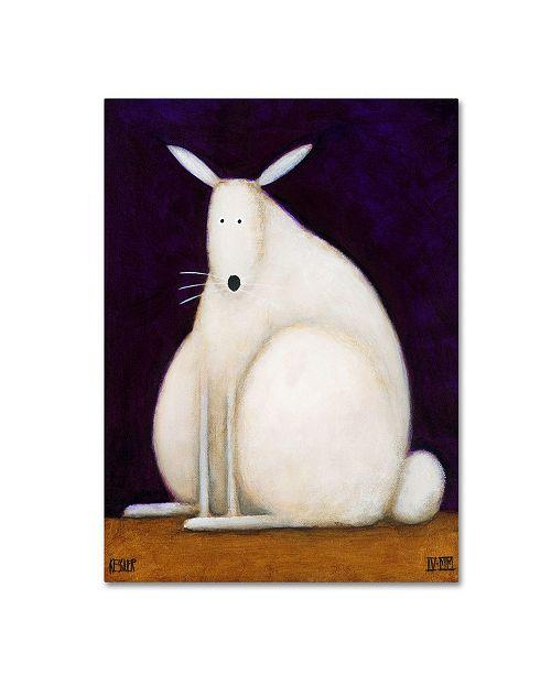 "Trademark Global Daniel Patrick Kessler 'Bunny' Canvas Art - 47"" x 35"" x 2"""