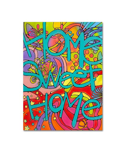 "Trademark Global Dean Russo 'Home Sweet Home' Canvas Art - 47"" x 35"" x 2"""