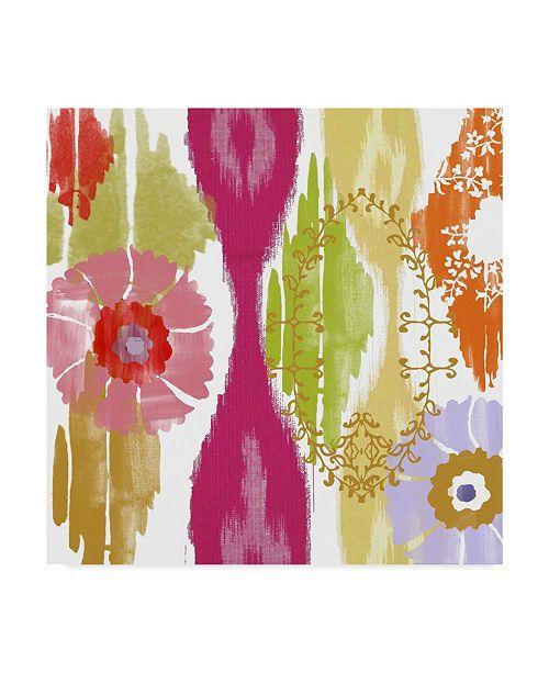 """Trademark Global Color Bakery 'Chanda II' Canvas Art - 35"""" x 35"""" x 2"""""""
