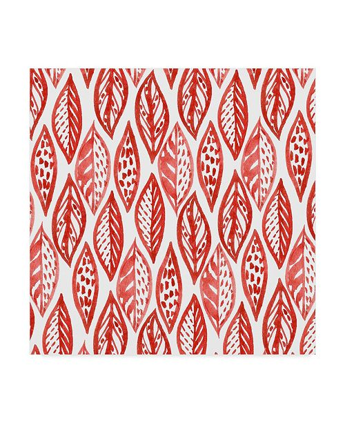"Trademark Global Irina Trzaskos Studio 'Botanical pattern 2' Canvas Art - 24"" x 24"" x 2"""