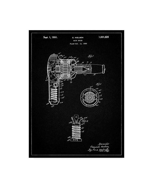 "Trademark Global Cole Borders 'Mechanics 16' Canvas Art - 24"" x 18"" x 2"""