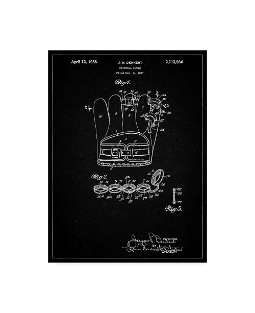"Trademark Innovations Cole Borders 'Glove 1' Canvas Art - 32"" x 24"" x 2"""
