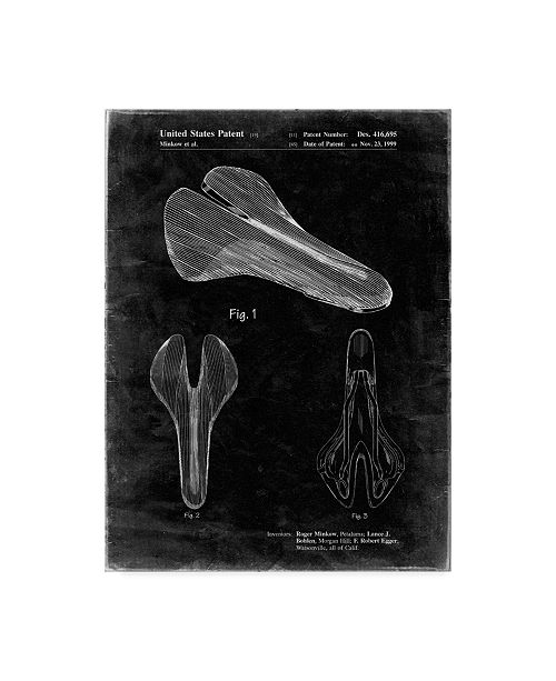 """Trademark Innovations Cole Borders 'Bicycle Seat' Canvas Art - 47"""" x 35"""" x 2"""""""