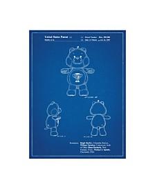 "Cole Borders 'Champ Care Bear' Canvas Art - 24"" x 18"" x 2"""