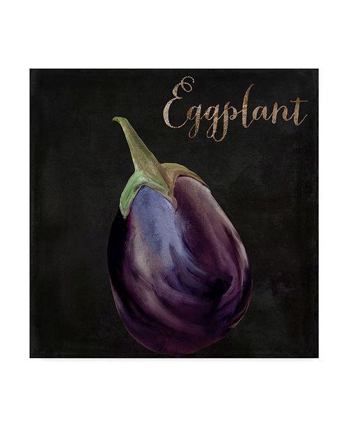 """Trademark Global Color Bakery 'Medley Eggplant' Canvas Art - 24"""" x 24"""" x 2"""""""