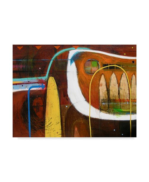 "Trademark Global David Spencer 'Abstract Brown' Canvas Art - 24"" x 18"" x 2"""