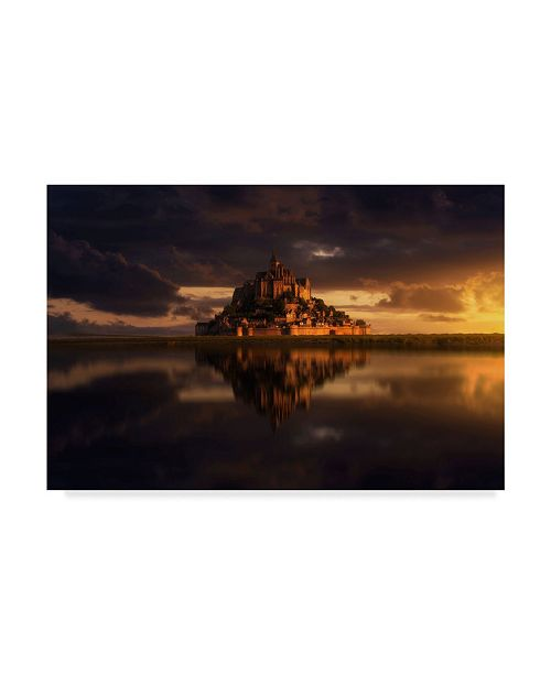 "Trademark Global Ivan Ferrero 'Dreamland' Canvas Art - 32"" x 22"" x 2"""