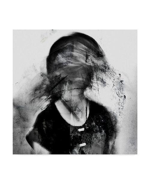 "Trademark Global Dalibor Davidovic 'Shadow Portrait' Canvas Art - 35"" x 2"" x 35"""