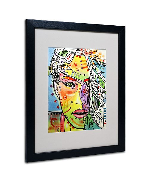 "Trademark Global Dean Russo 'Wind Swept' Matted Framed Art - 20"" x 16"" x 0.5"""