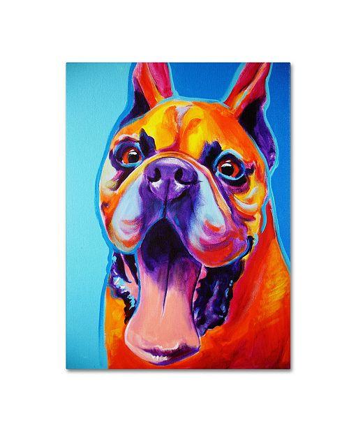 "Trademark Global DawgArt 'Tyson' Canvas Art - 35"" x 47"" x 2"""