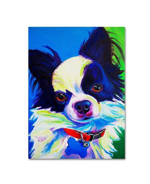 "Trademark Global DawgArt 'Esso Gomez' Canvas Art - 35"" x 47"" x 2"""