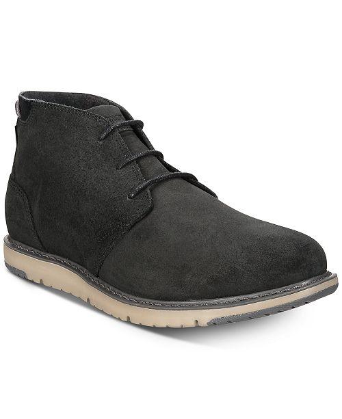 TOMS Men's Navi Crosshatch Denim Boots