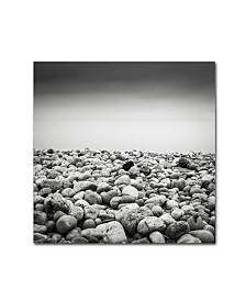 """Dave MacVicar 'Pebble Beach' Canvas Art - 24"""" x 24"""" x 2"""""""