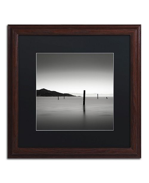 """Trademark Global Dave MacVicar 'The Pacific' Matted Framed Art - 16"""" x 16"""" x 0.5"""""""