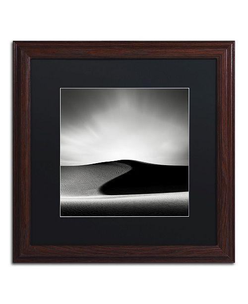 "Trademark Global Dave MacVicar 'Dark Shadows' Matted Framed Art - 16"" x 16"" x 0.5"""