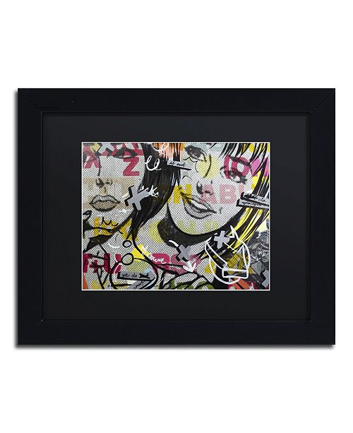 "Trademark Global Dan Monteavaro 'Apologies' Matted Framed Art - 11"" x 14"" x 0.5"""