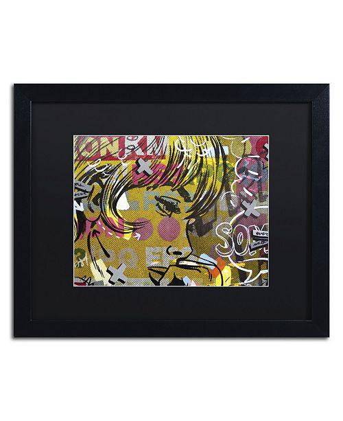 "Trademark Global Dan Monteavaro 'Every Sometimes' Matted Framed Art - 16"" x 20"" x 0.5"""