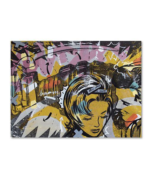 "Trademark Global Dan Monteavaro 'Surprise B' Canvas Art - 19"" x 14"" x 2"""