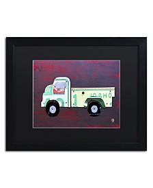 """Design Turnpike 'Pickup Truck' Matted Framed Art - 16"""" x 20"""" x 0.5"""""""