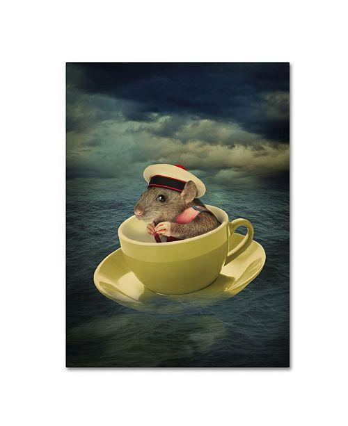 "Trademark Global J Hovenstine Studios 'Mice Series #4.5' Canvas Art - 32"" x 24"" x 2"""