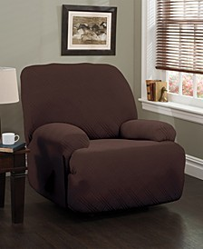 Double Diamond Jumbo Recliner Stretch  Slipcover