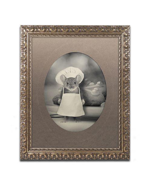 "Trademark Global J Hovenstine Studios 'Mice Series #6' Ornate Framed Art - 20"" x 16"" x 0.5"""