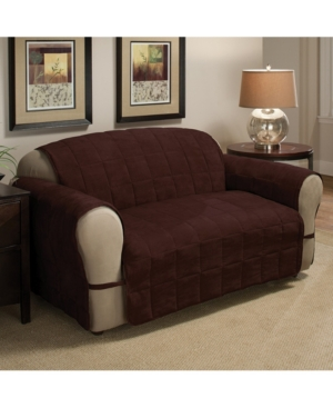 P/Kaufmann Home Faux Suede Ultimate Loveseat Protector