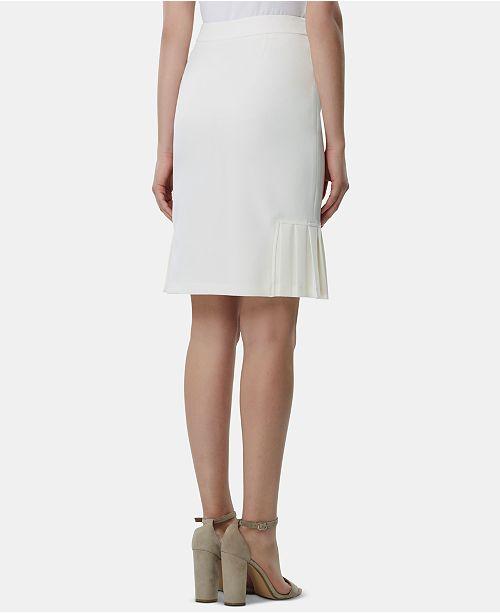 cfdb64f588 Tahari ASL Pleated-Hem Pencil Skirt & Reviews - Skirts - Women - Macy's