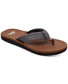 Quiksilver Men's Carver Tropics Flip-Flop Sandals